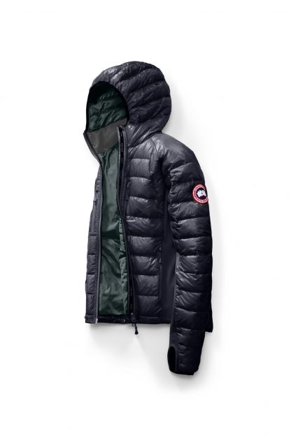 buy popular 2b3ad 14ad0 Cheap Admiral Blue/Black Canada Goose Lightweight Down Jackets HyBridge  Lite Hoody Canada Goose Parka 2703M
