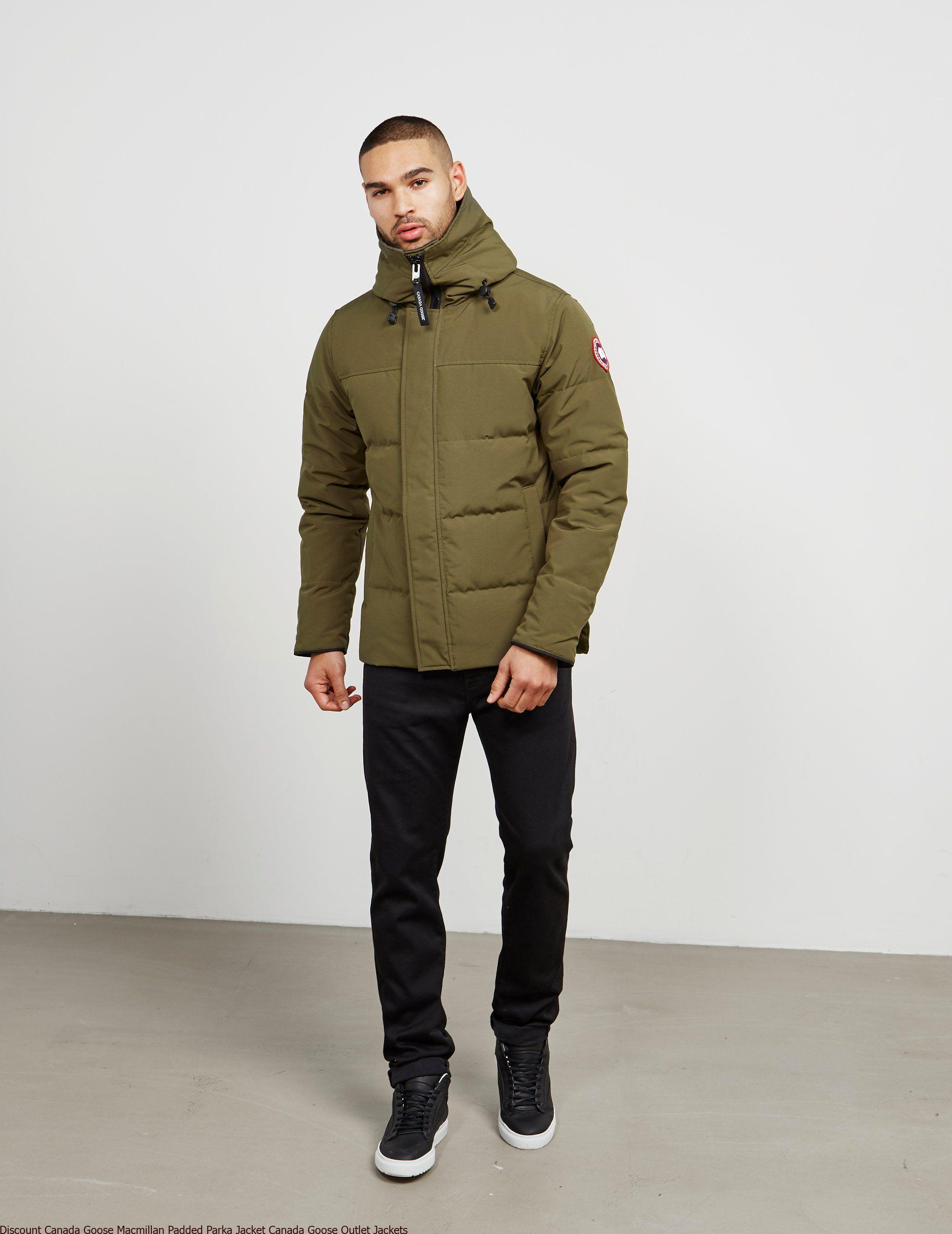 3d09ea275376 Discount Canada Goose Macmillan Padded Parka Jacket Canada Goose Outlet  Jackets – Canada Goose Outlet